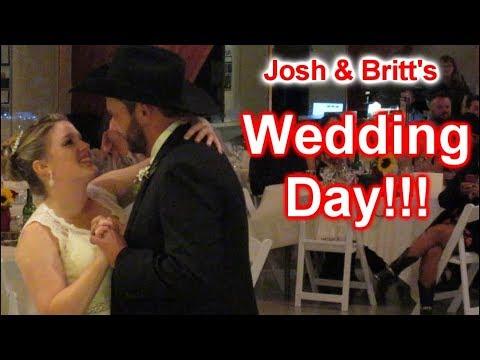 Trucker Joshs Wedding Day!!! Day 2512  091617