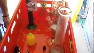 FOLGE 62  HOW to clean a BONG! Wie man eine BONG putzt...schnell,gut und billich!!!