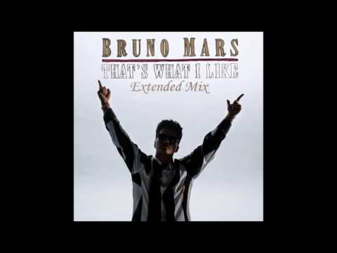 Bruno Mars - That's What I Like (Extended Mix)