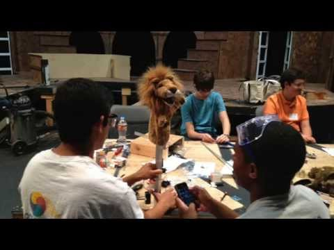 UIST 2015 Student Innovation Contest: Animatronics