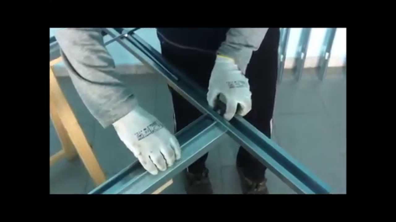 VIDEO MONTAGGIO RINGHIERA FACILE - YouTube