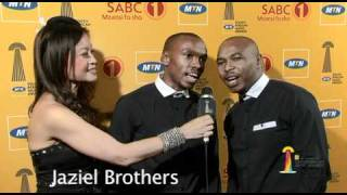 MTN SAMA17: Jaziel Brothers perform live on the Yellow Carpet