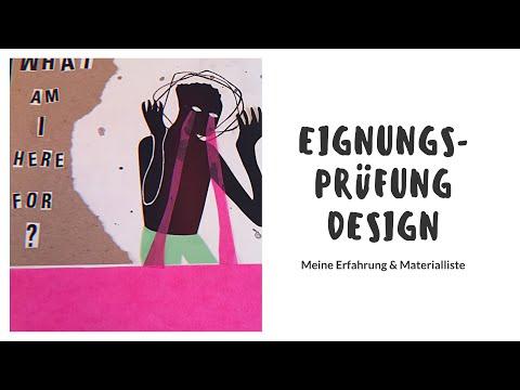 Eignungsprüfung KOMMUNIKATIONSDESIGN/ VISUELLE KOMMUNIKATION - Meine Erfahrung & Materialliste