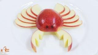 3 Fun Apples Cutting Garnish | Lavy Fuity