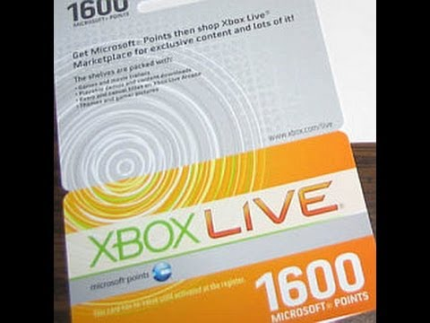 FREE 1600 MICROSOFT POINT CARD. ITS FREE