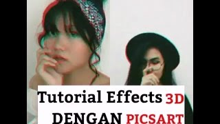 Cara edit photo 3d dengan picsart