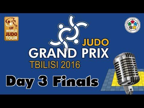Judo Grand-Pix Tbilisi 2016: Day 3 - Final Block