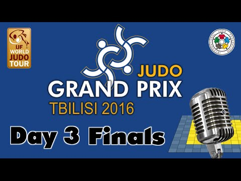 Judo Grand-Pix Tbilisi 2016: Day 3 - Final Block
