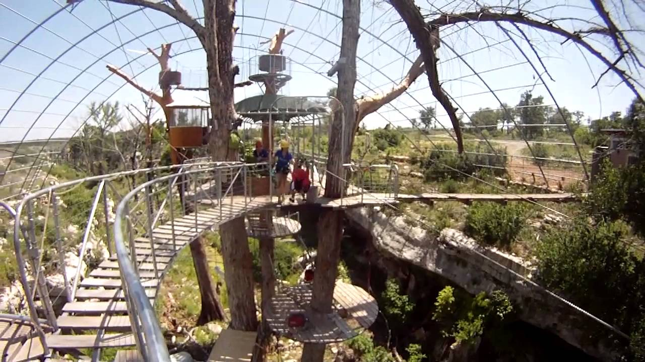 & Cypress Valley Canopy Tours - GoPro - YouTube