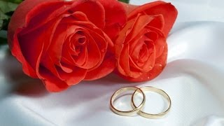 Свадебный футаж: два кольца