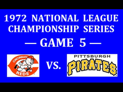 1972 NLCS (GAME 5) -- CINCINNATI REDS VS. PITTSBURGH PIRATES (ORIGINAL REDS RADIO BROADCAST)
