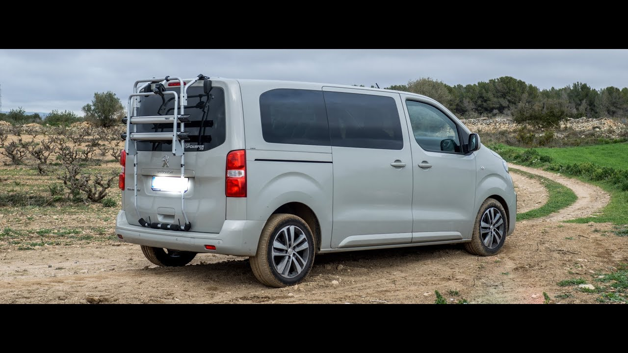 peugeot traveller camper youtube. Black Bedroom Furniture Sets. Home Design Ideas