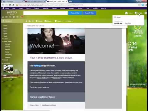 how to create a yahoo email account youtube