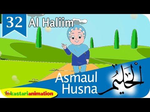 Asmaul Husna 32 Al Haliim bersama Diva | Kastari Animation Official