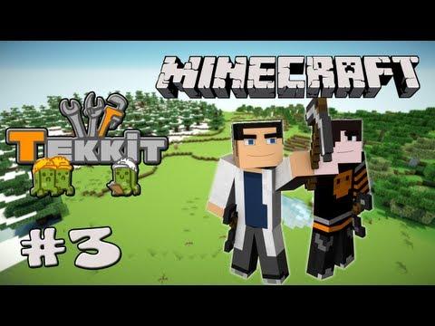 Minecraft: Tekkit ft. elfacool - Mining is a Go! (Let's Play)