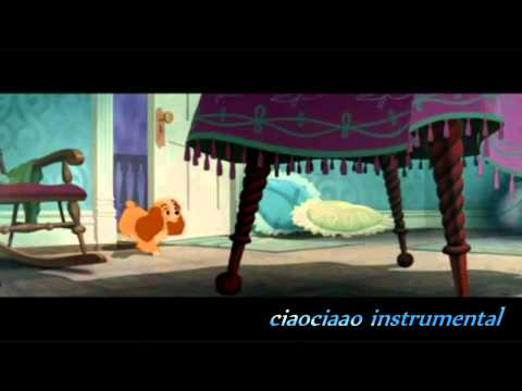 instrumental what is a baby lalalù lullaby(lady and the tramp) by fra