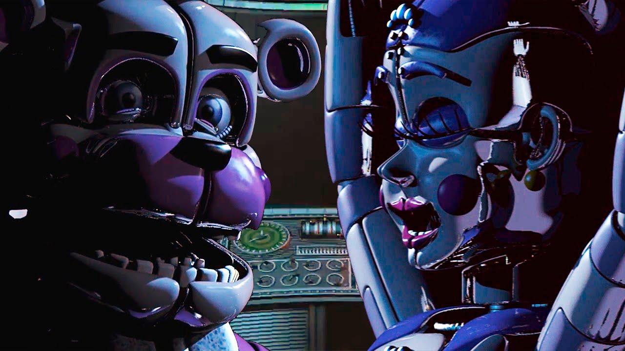 картинки аниматроников из фнаф 5