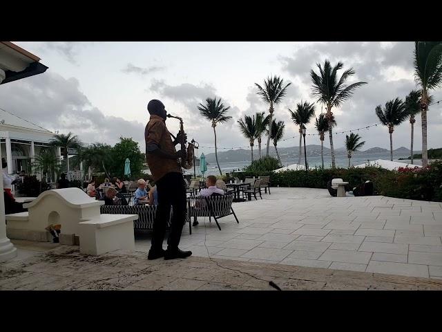 St Thomas Virgin Islands Vacation at Ritz Carlton Bleu Water Allero & St John view