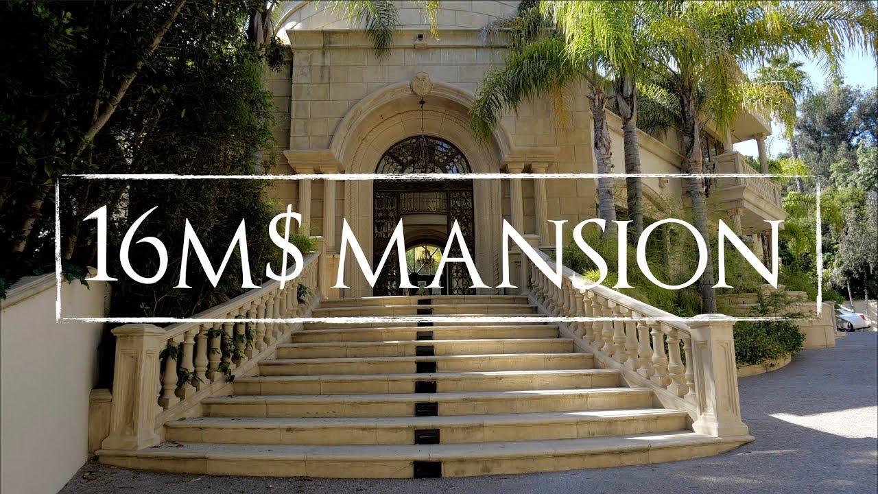 Amazing $16 Million Dollar Mansion In Beverly Hills   Los Angeles California