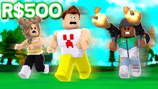 SPENDING 500R$ ON A LEGENDARY WEAPON!! | Roblox Explosion Minigames