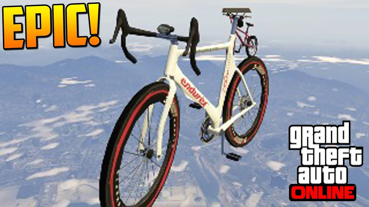 Super Jump On Bike Gta Online Ps4 Xbox One Pc Funny