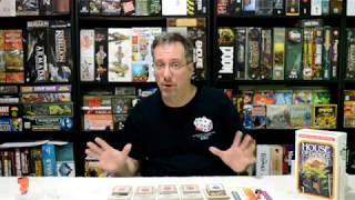 Unboxing of Choose Your Own Adventure House of Danger by Z-Man Games