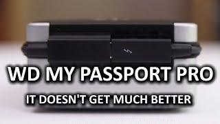 WD My Passport Pro Portable Thunderbolt Drive