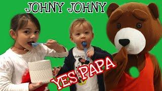 Johny Johny Yes Pappa | Fairy n Bear Kids Fun Music | Johnny Johnny Yes Pappa