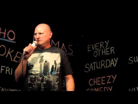 Gary Brockway live comedy at The Nacho Mamas Club in Tempe, Az. 1-18-14