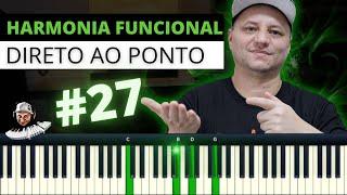 Aula De Piano Para Iniciantes | PROGRESSÃO COM PASSAGEM PARA ACORDE DE 4º GRAU | Aula GRÁTIS🔥🔥🔥😃🙌