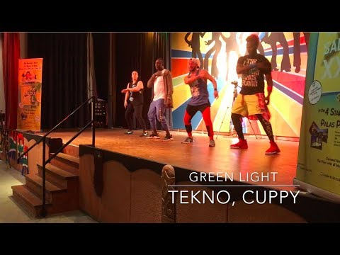 GREEN LIGHT / TEKNO, CUPPY - Zumba® choregraphy By Atef Blagui
