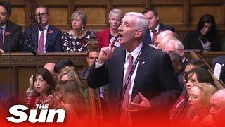 Frontrunner Sir Lindsay Hoyle's pitch for the Speaker's job