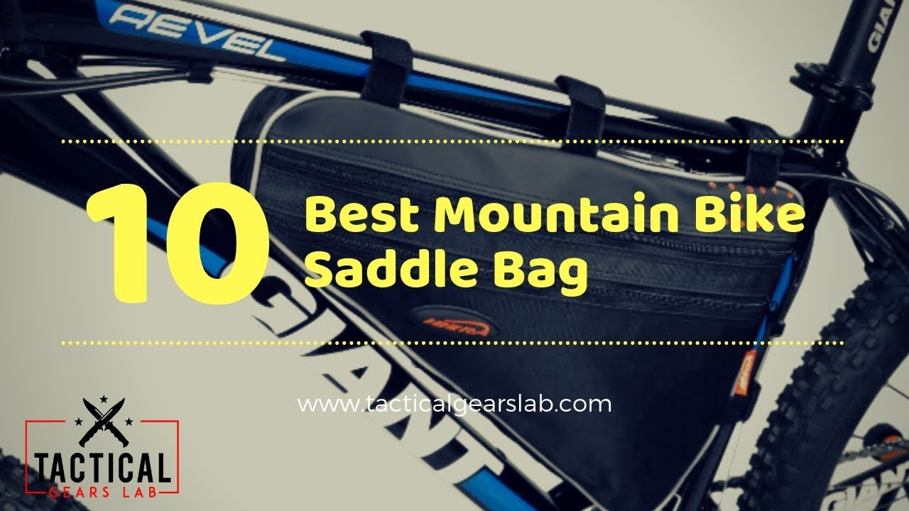 10 Best Mountain Bike Saddle Bag - Tactical Gears Lab 2019