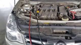 Заправка кондиционера Nissan Almera(, 2016-08-14T09:18:50.000Z)