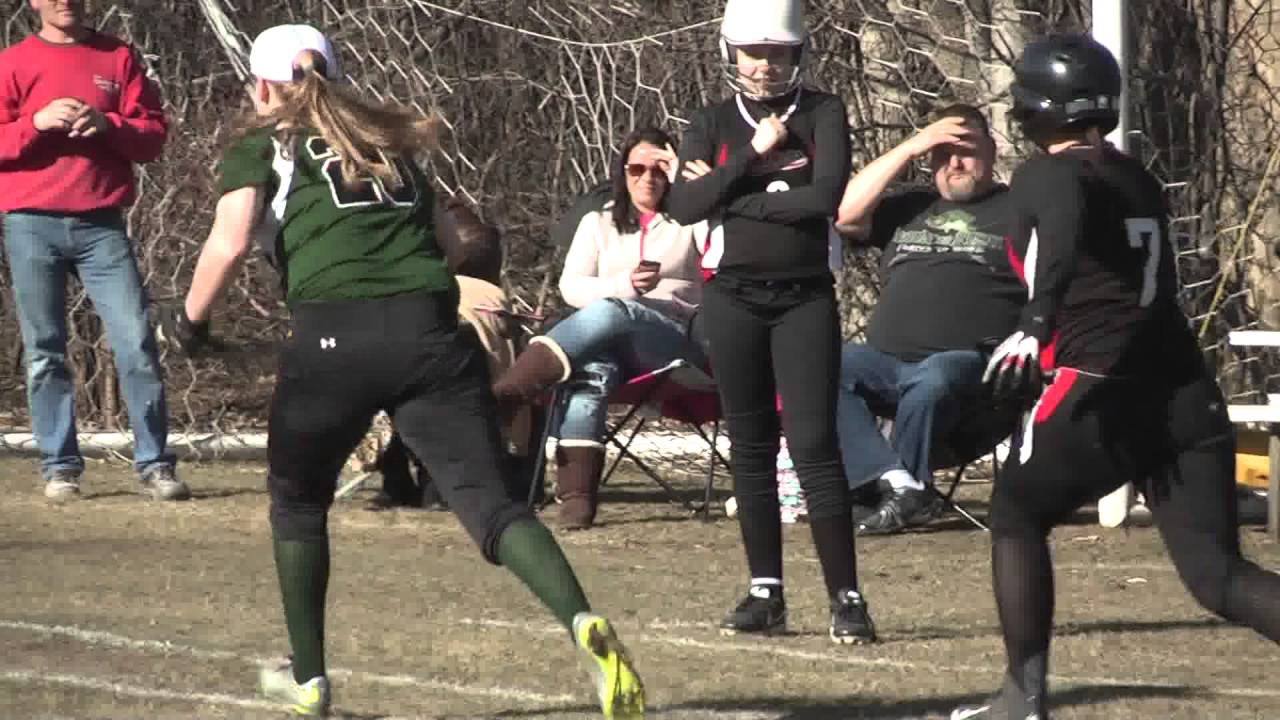 Chazy - Crown Point Softball  4-14-16