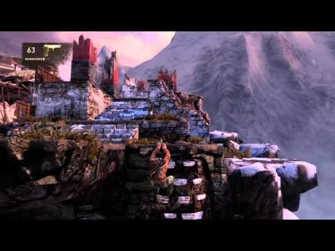 Uncharted 2 Among Thieves Remastered - Ch22 The Monastery (Crushing All Treasure)