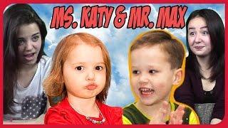 Реакция на Мисс Кэти и Мистер Макс (