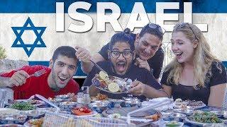 TRYING ISRAELI FOOD! 5 DISHES TO TASTE IN ISRAEL - Tel Aviv