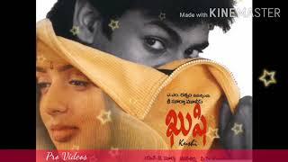 Kushi- 2001 full album telugu
