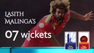 Lasith Malinga's 7 wicket haul in Super Provincial