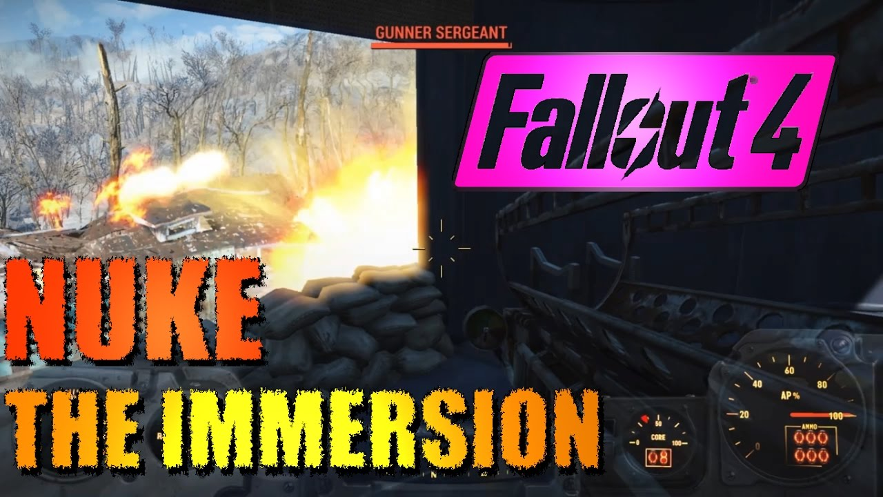 Immersive Gameplay at Fallout 4 Nexus - Mods and community