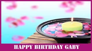 Gaby   Birthday Spa - Happy Birthday
