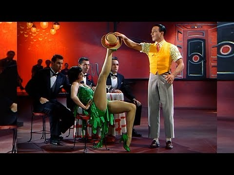 Dancer( Vixen )like Louise Brooks - SINGIN' IN THE RAIN '52 Gene Kelly & Cyd Charisse /HD