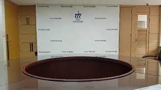 전동암막실사롤스크린 매립 시공/ 매립형 전동실사스크린 …