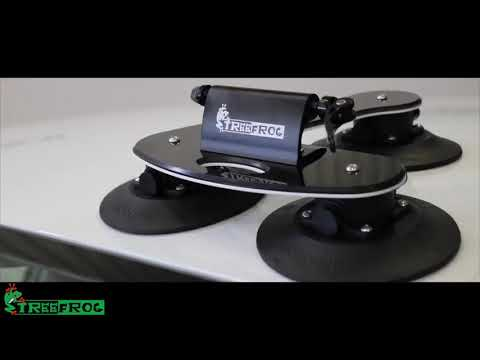 How To Fit TreeFrog Pro 1 Bike Rack -  Suction Mounted