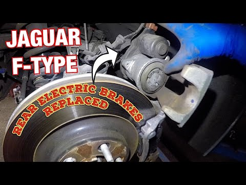 How to replace rear brake pads on Jaguar F-Type 2015 and more