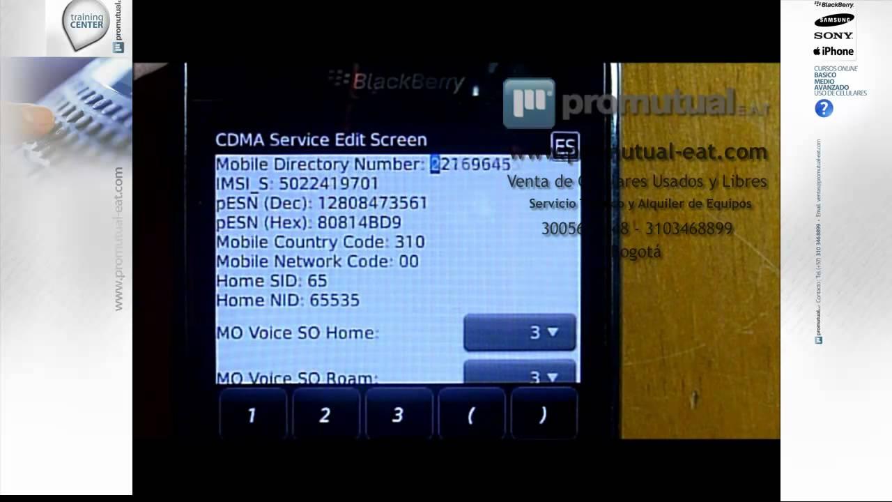 Como localizar mi celular blackberry robado