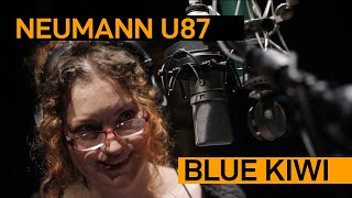 Neumann U87 vs. Blue Kiwi (Female) | VO Mic Comparison