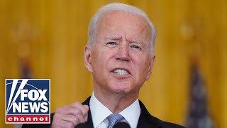 'The Five' gives exclusive reaction to Biden's Afghanistan remarks