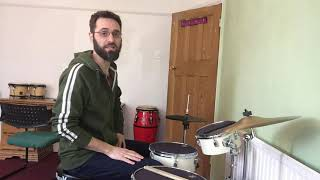 Drum kit with Riccardo Castellani - tips for your daily practice routine